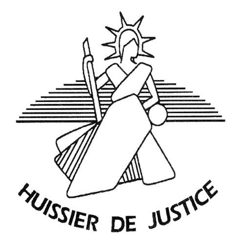logo huissier de justice